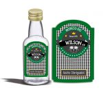 Garrafinha-de-50-ml-tema-boteco-branco-e-verde