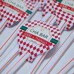 decoração-chá-bar–vermelho-e-branco
