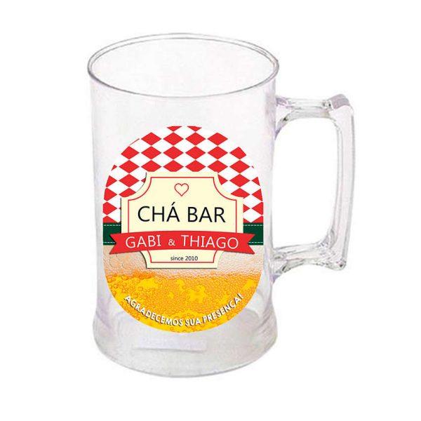 caneca_chopp_acrilico-adesivo-de-vinil-boteco-vermelho-e-branco