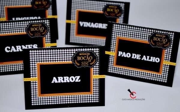 decoração-chá-bar-amarelo-e-preto