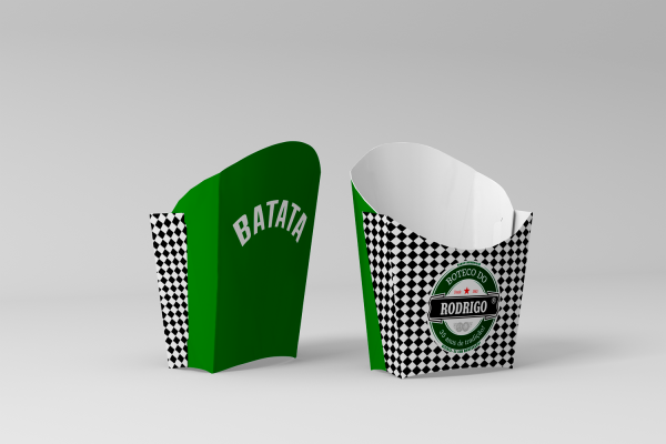 Caixinha para Batata Frita Heineken