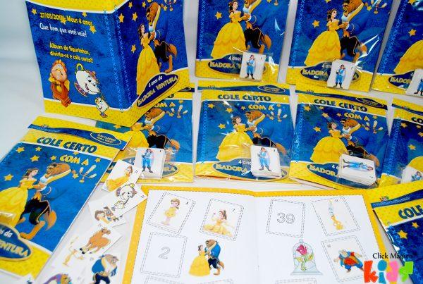 álbum De Figurinhas Personalizado Tema A Bela E A Fera