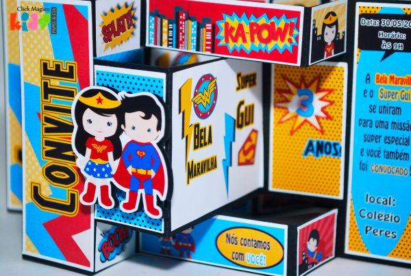 convite-infantil-super-homem-e-mulher-maravilha