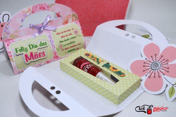 esmalte personalizado Dia Das Mães