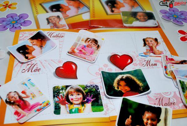 recordação escolar Dia das mães