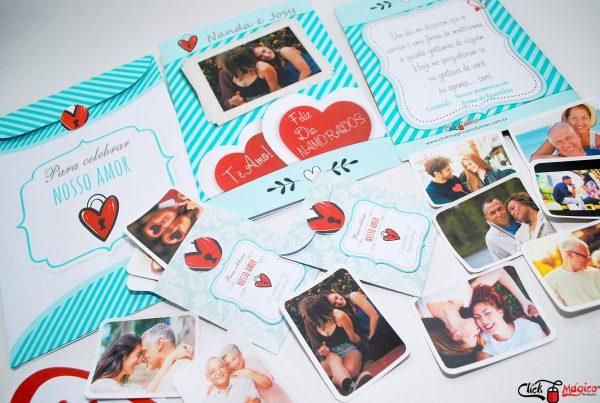 Dia dos Namorados album com fotos personalizado