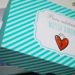 Dia dos Namorados trufas personalizadas