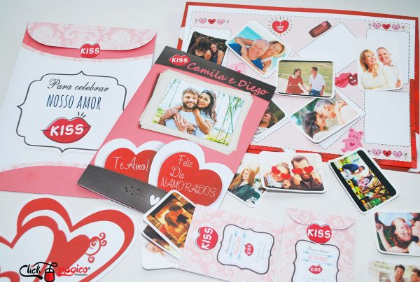 album com fotos Dia dos Namorados