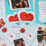 album de figurinhas Dia dos Namorados