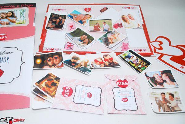 album personalizado Dia dos Namorados