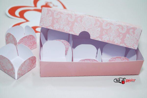 caixa para docinhos Dia dos Namorados