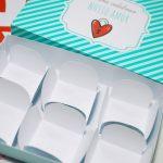 caixinha personalizada trufas Dia dos Namorados