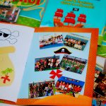 album de fogurinhas recordação escolar