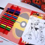 Dia das Crianças kit de colorir os incrieis