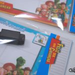 Dia das Crianças recordação escolar jogo da velha