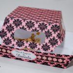 bandeja personalizada para petisco chá de lingerie