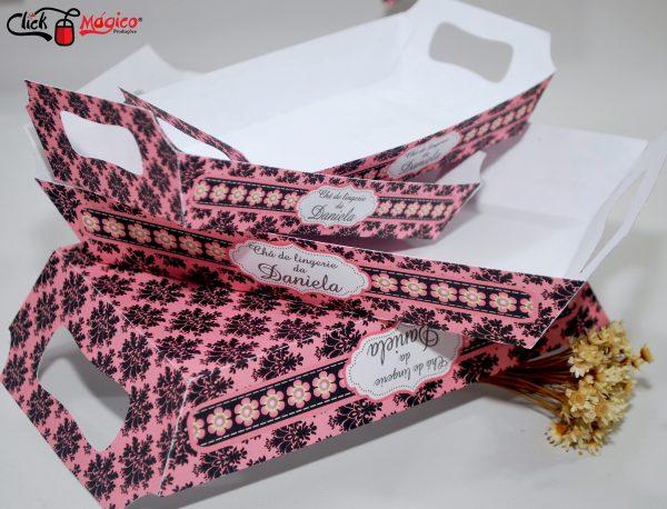 bandejas para docinhos chá de lingerie