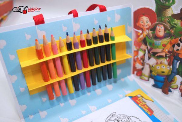 brinde escolar toy story Dia das Crianças