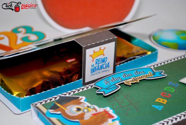 caixa para barra de chocolates Dia dos professores (2)