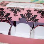 caixinha para chocolate chá de lingerie