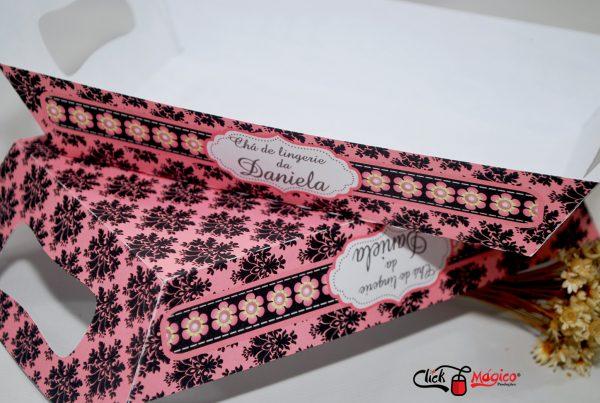 chá de lingerie bandeja de papel