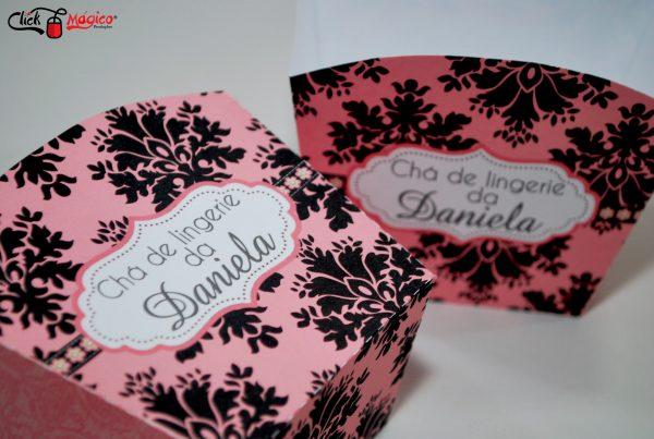 decoração chá de lingerie arabesco
