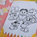 desenho de colorir Turma da Monica