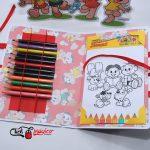 dia das crianças kit de pintura