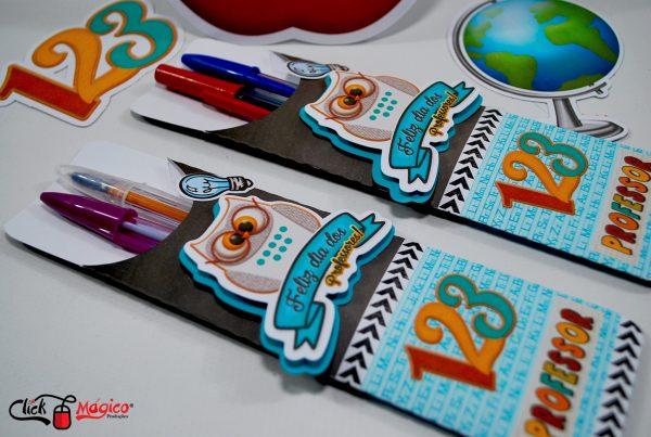 envelope personalizado canetas