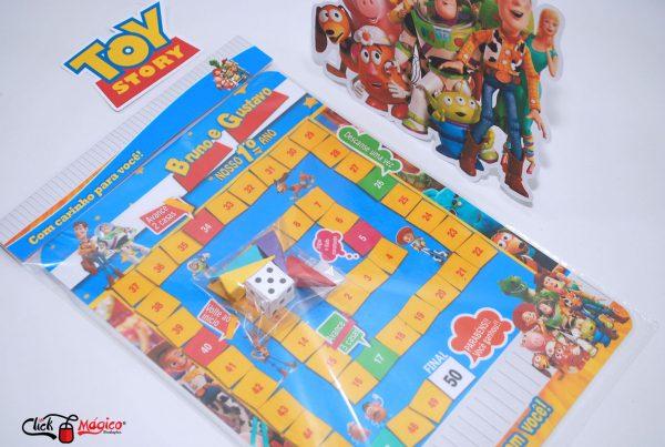 jogo de tabuileiro infantil Toy Story