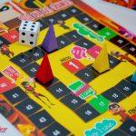 jogo de tabuleiro Dia das crianças