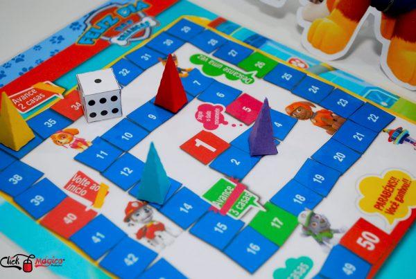 jogo de tabuleiro para o dia das crianças