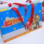 kit de colorir Dia das Crianças escola
