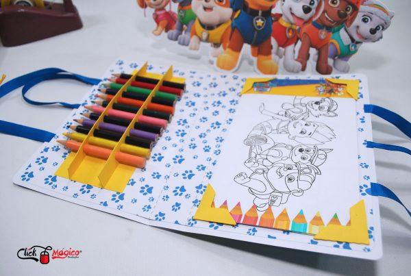 kit de colorir Patrulha canina