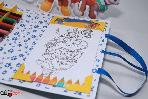 kit de colorir personalizado Patrulha canina