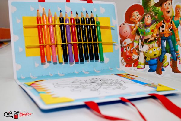 kit de colorir personalizado Toy Story
