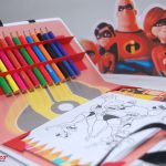 kit de colorir personalizado os incríveis