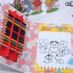 kit de colorir turma da monica