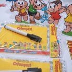 lembrança escolar para o Dia das Crianças