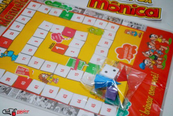 turma da monica jogo de tabuleiro