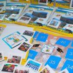 album de figurinhas para escola