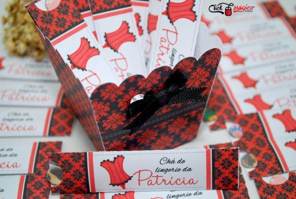 capinha para lixa personalizada vermelho