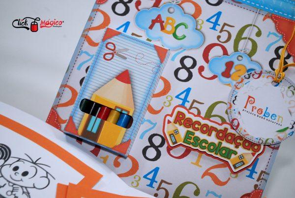 kit de colorir lembrancinha escolar