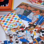 querbra cabeça com foto recordação escolar