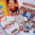 recordação escolar personalizada com foto