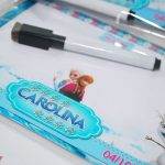 festa personalizada Frozen