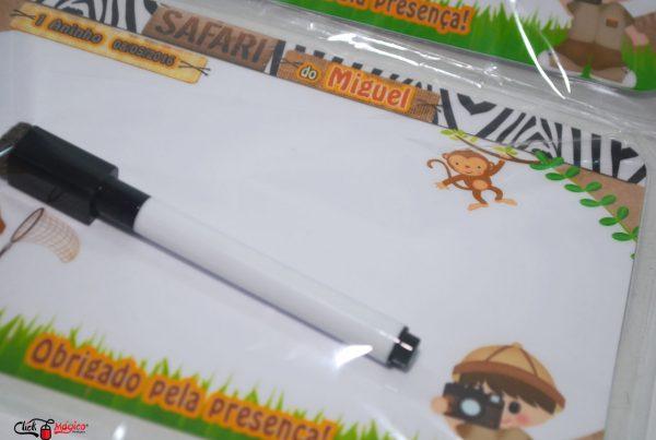 festa personalizada safari