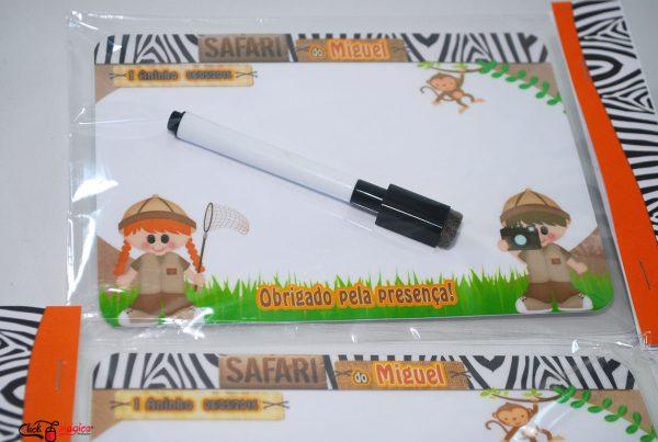lembrancinha infantil safari