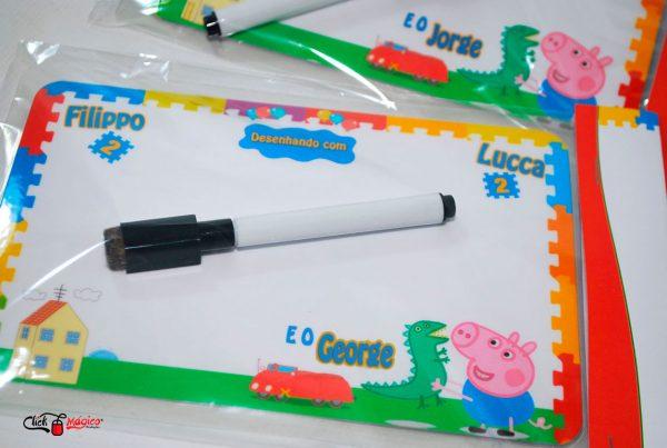 lembrancinha personalizada george pig