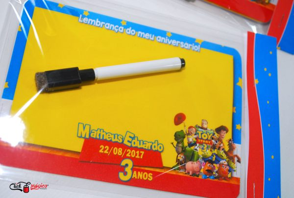 lembrancinha personalizada toy story